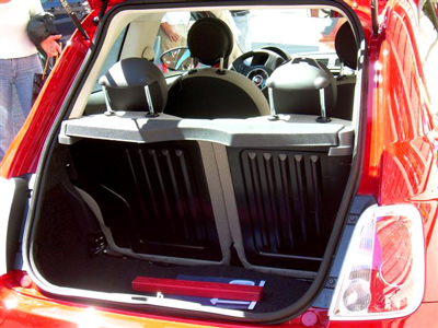 How Big Is A Fiat 500 Boot Page 1 General Gassing