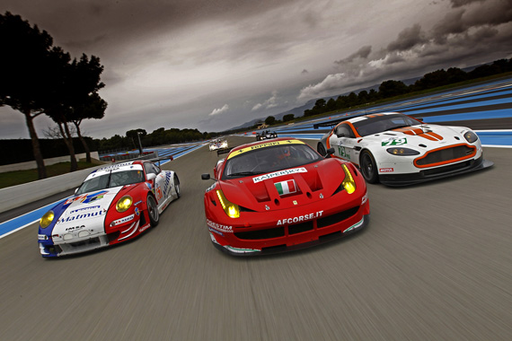 ferrari 458gt2 takes first four places at castellet. Black Bedroom Furniture Sets. Home Design Ideas