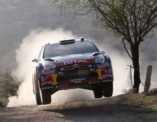 Hirvonen, in his third rally for Citroen, has met his goal of adding points. He finished second.