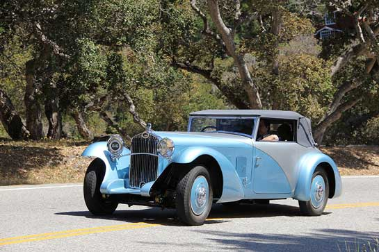 1932 Delage D8 SS 100