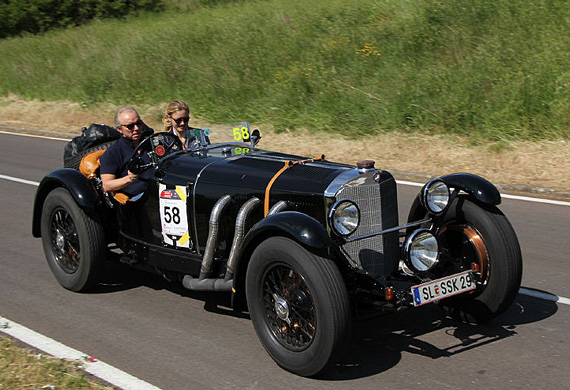 Readers asked brits and germans on the mille miglia for Mercedes benz 1929 ssk