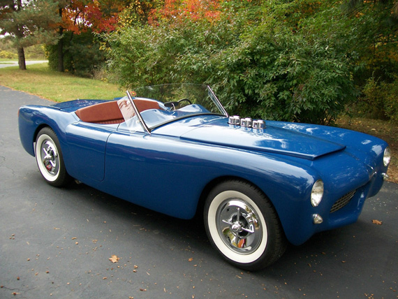 European Influence American Know How Americas First Postwar - Sports cars 50s