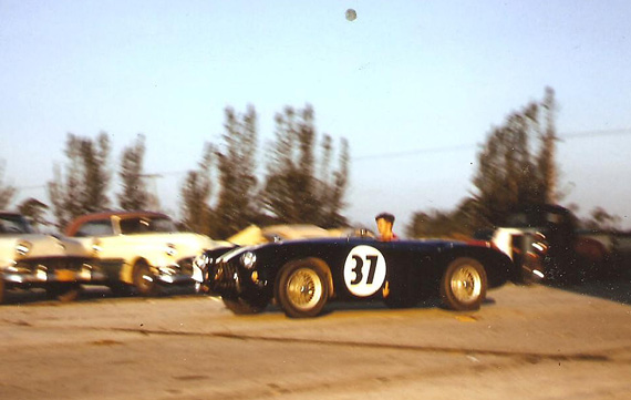 Submitted by JV, this photo was taken at the Reading Hillclimb in the 1960s. But what is it?