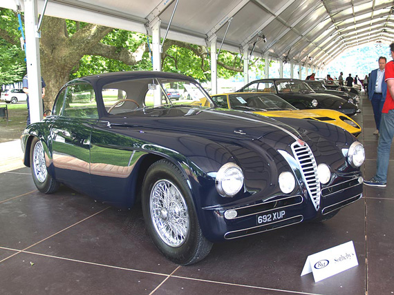 Alfa Romeo 6C 2500 SS Villa d'Este coupè by Touring of 1949 sold for 785k