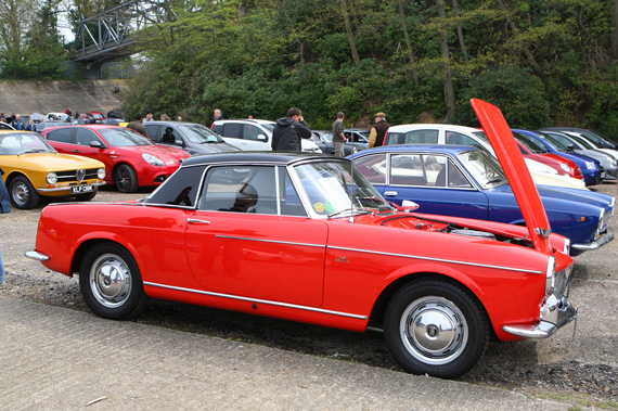 Fiat 1200 was  a great car but not up to Alfa Spider standards.