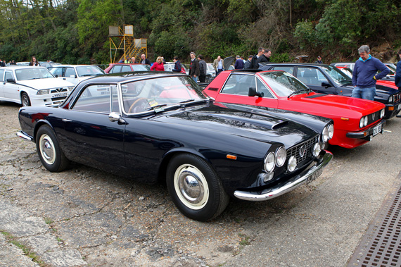 Yet another rare car, a Right Hand Drive Touring bodied Flaminia.