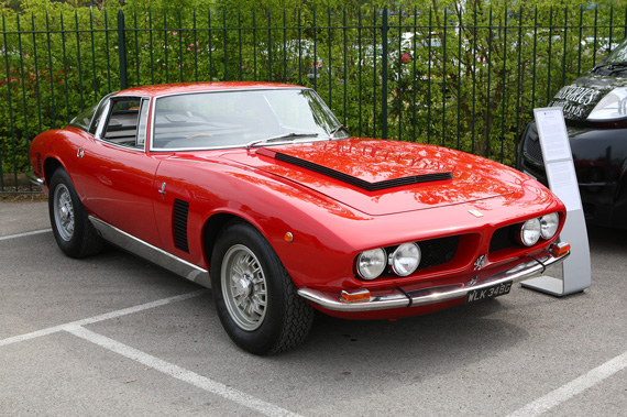 Coming to auction shortly, a 7 litre Iso Grifo, It is a good job I am not quite old enough to empty my pension pot!
