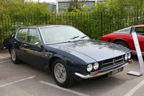 Another rare car coming to auction shortly, a right hand drive Iso Fidia