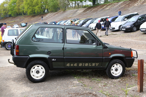 I think our comment upon seeing this very rare Special Edition Fiat Panda 4 X 4 Sisley was blimey