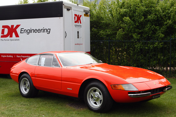 This Rosso Dino Daytona has only cover 20 thousand miles from new and although it has been repainted it has never been restored