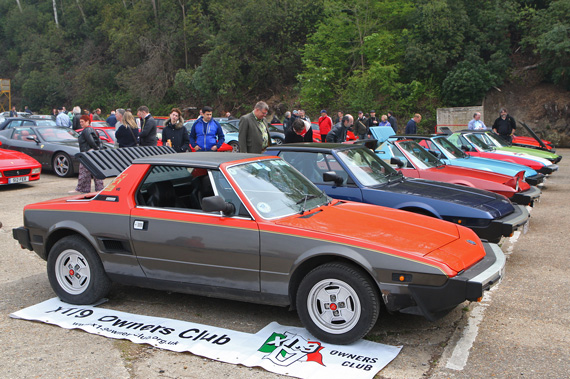 To tie in rather nicely with recent editions of VeloceToday. The history(nearly) of the Fiat X19 in one line up.
