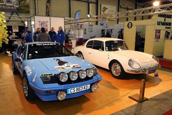 The Alpines were also strong competitors of the Monte Carlo.  Here a A310 and a A110 GT4 from 1966.