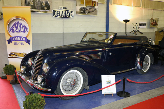 A 1948 Delahaye 135 M cabriolet nicely bodied by Chapron.