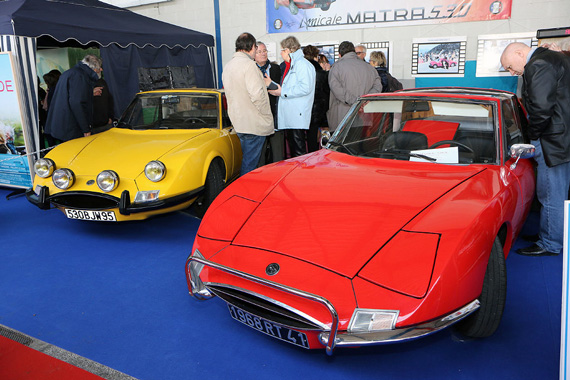 The club of the friends of the Matra 530s.