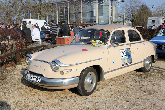 The Panhard PL 17 was produced between 1959 and 1965.