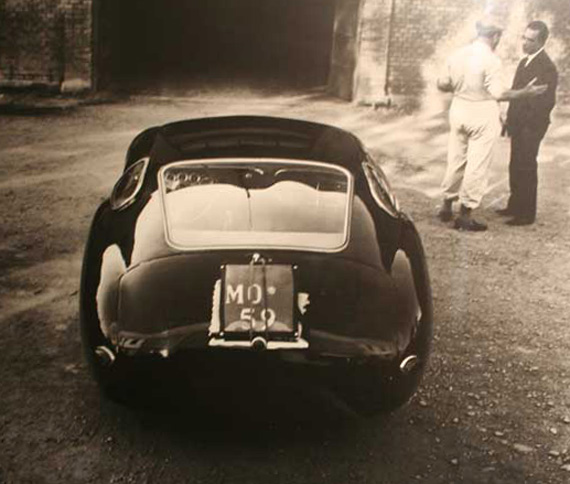 The Costin designed Zagato built 450S Maserati shortly after being made street legal by Byron Staver. Photographer unknown.
