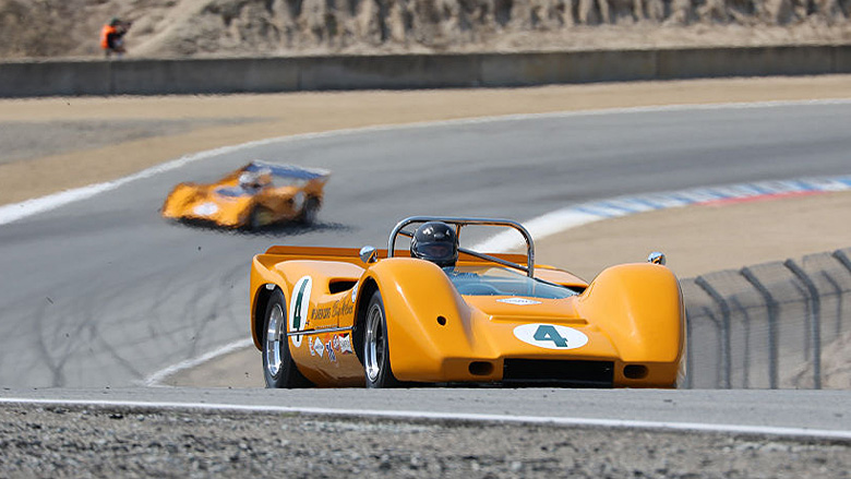 Group 7A for Can-Am cars is the playground of many McLarens who dominated the series between 1967 and 1971.