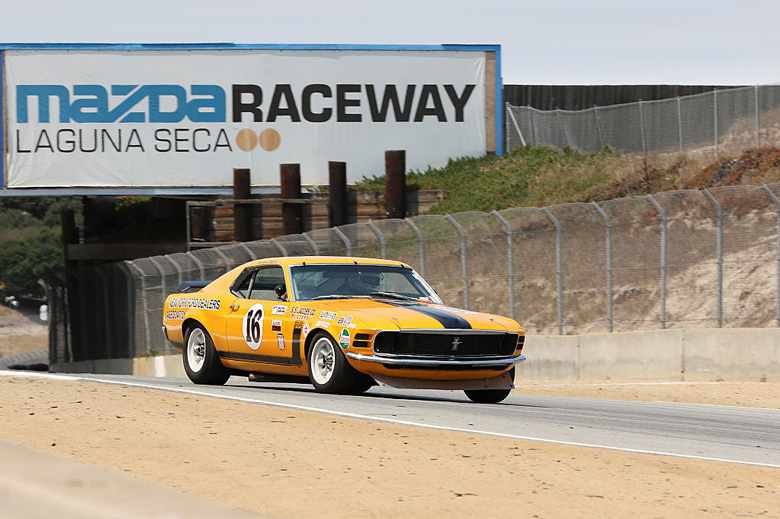 Trans-Am cars are always a crowd's favorite.  Plenty of Ford Mustang Boss and Chevy Camaros, this group finally saw the victory of an AMC Javelin.