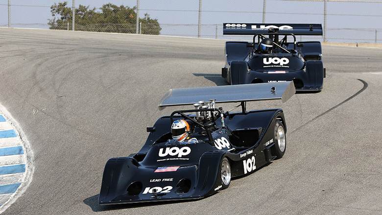 But this time it was a pair of Shadow DN4s who stole the show, finishing 1st and 2nd.