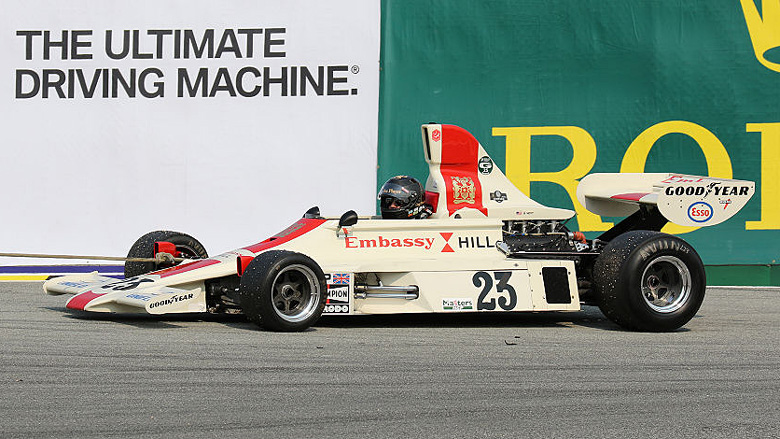 Is the 1975 Hill GH1 F1 car the ultimate driving machine ?