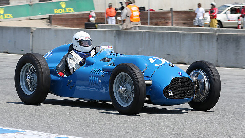 Peter Mullin released his 1950 Talbot T26C from his museum to compete in Group 1A for 1927-1951 Racing Cars.