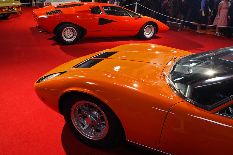 Miura and Countach