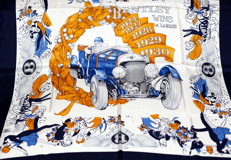Bentley Silk Scarf.