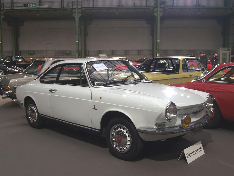 Simca 1000 coupè Bertone 1967, estimate 10-15000 euro, sold at 11500 euro.