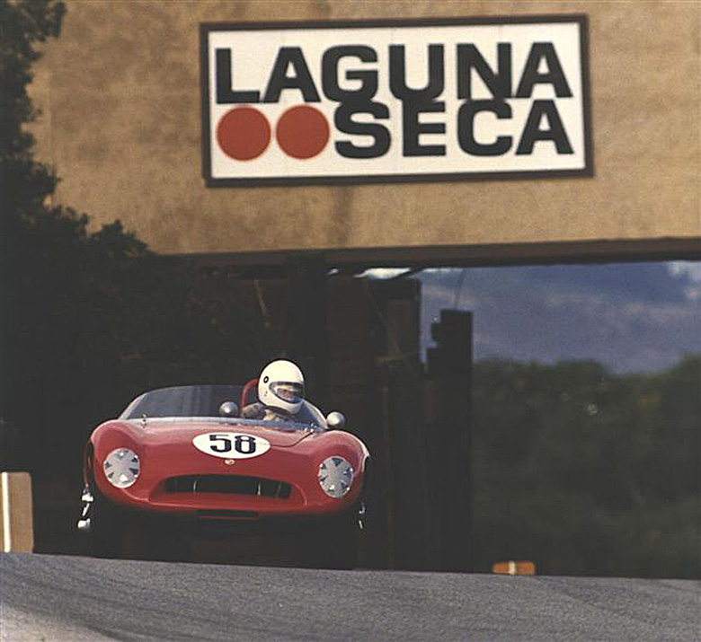 After moving to California, Jim entered the Stanguellini in the Monterey Historics and found instant fame, and friends.