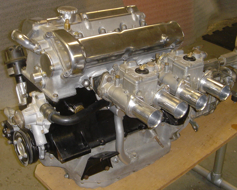 The OSCA FIAT engine, although not original, certainly looks good, produces good power.