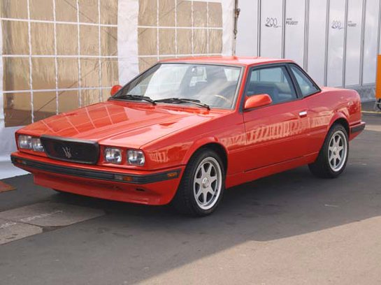 French and Maserati at the Oldtimers, August 13-15