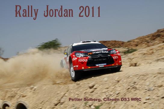 Jordan Rally Car Service Park