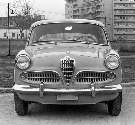 Alfa Giulietta Berlina Portfolio
