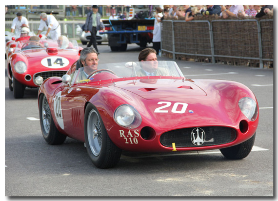Fangio Tribute at Goodwood by Hugues Vanhoolandt