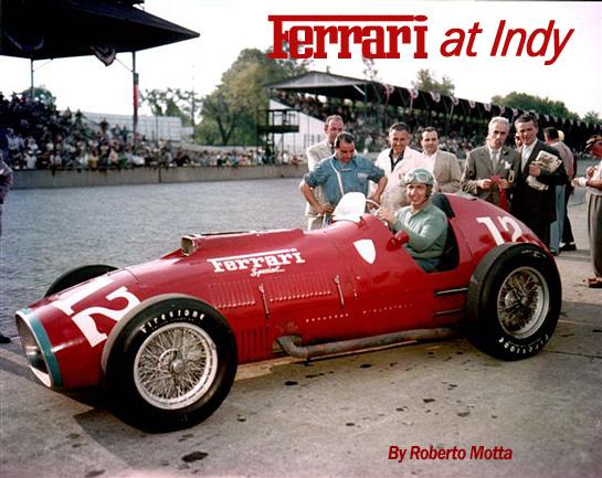 Ferrari At Indy