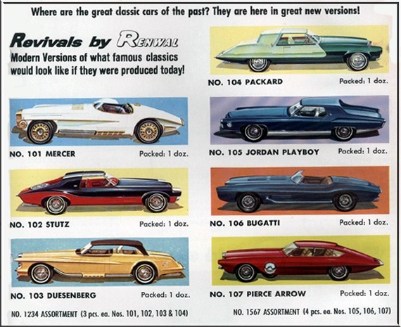 The Exner Renwal Revival Cars Of 1964