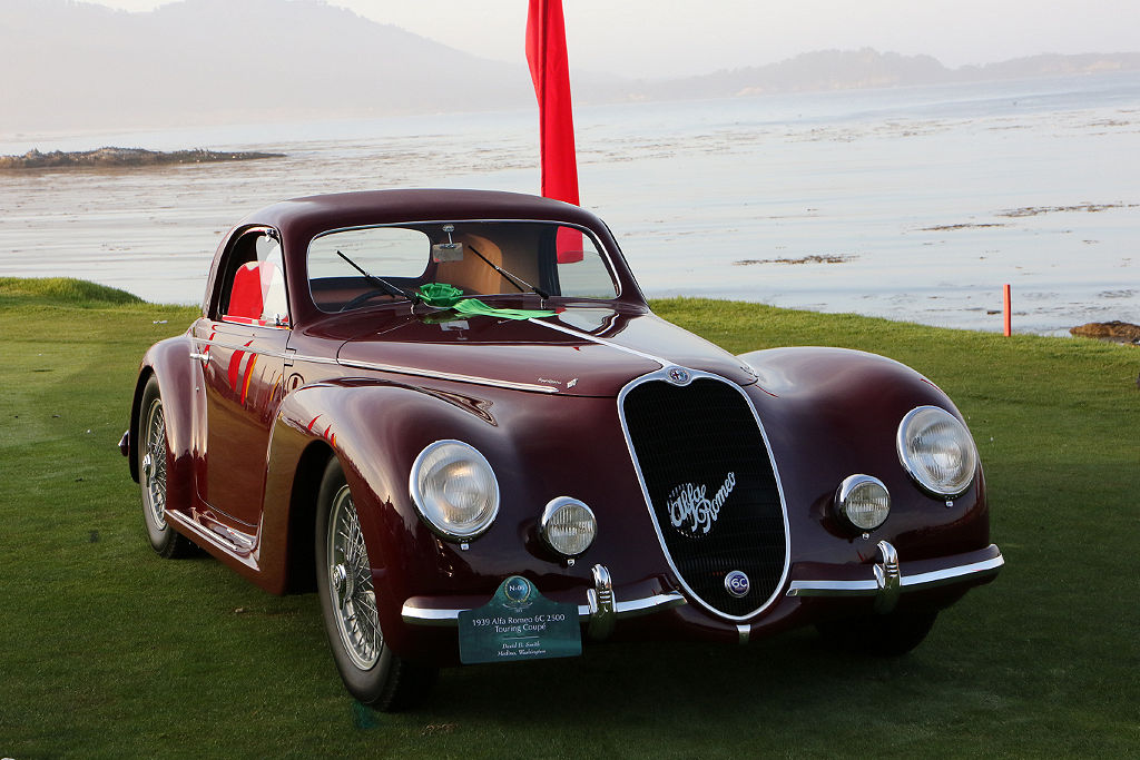Alfa Romeo 6c 2500 Was First Built With A Super Sport Spyder Corsa