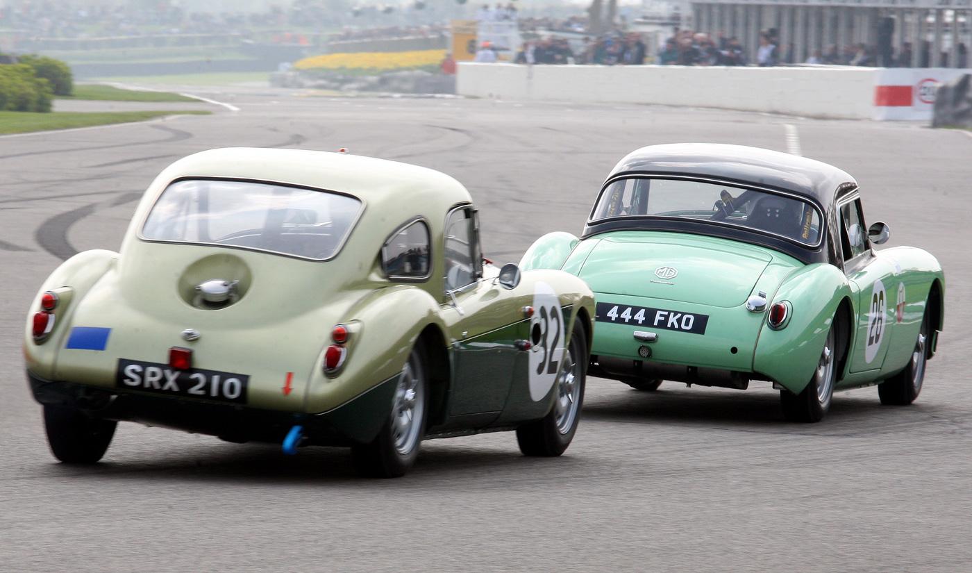 Jim Ellis Porsche >> Goodwood Members' Meeting, Part 2